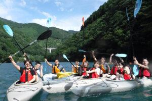 清流川辺川カヤック体験